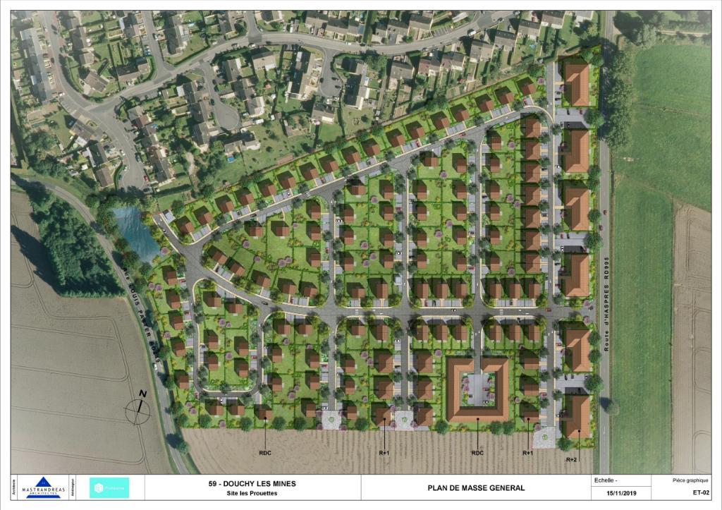 ZAC LES PROUETTES - Terrain à bâtir de 580 m²