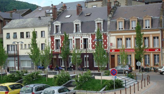 Projets - Nouzonville_Place de Strasbourg