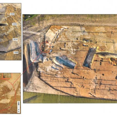 Fouilles archéologiques - Douchy Les Minew